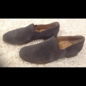 Franco Sarto Suede Leather Slip On Loafers Flats